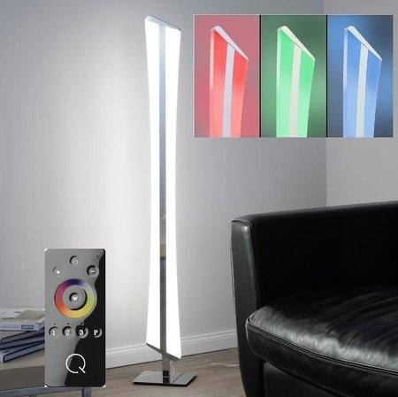 Lampa podłogowa LED Q-Riller 34W RGB 843-17 Pilot (1)