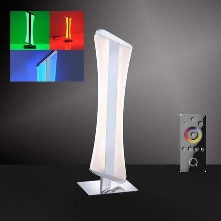 Lampka stołowa LED Q-Riller 4843-17 12W + pilot (1)