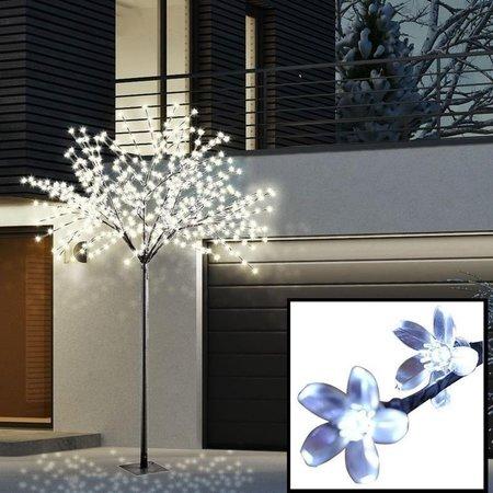 Drzewo drzewko świecące 600 LED czarne IP44 240CM (1)