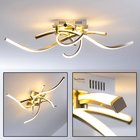 Lampa LED plafon 27W Polina 9144-55 Ściemniacz (2)