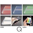 Listwa wisząca LED Q-Riller 28W RGB 2844-17 pilot (5)