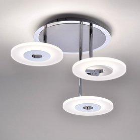 Lampa LED Adali 6446-55 talerze 3x13W ściemniacz