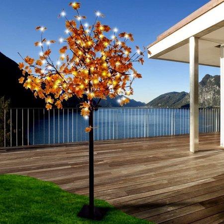 Drzewo drzewko świecące 450 złote LED IP44 210CM (1)