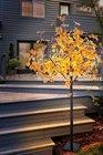 Drzewo drzewko świecące 450 złote LED IP44 210CM (4)