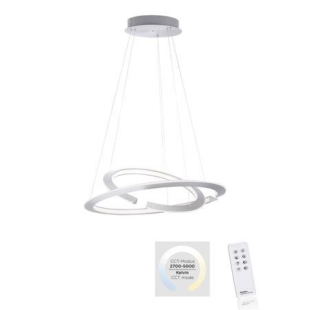 Lampa wisząca LED Alessa 2491-55 52W 2.7-5K + pilot (1)