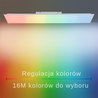 Plafon lampa LED Q-FLAG 8289-16 39W RGB OUTLET (3)