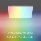 Plafon lampa LED Q-FLAG 8288-16 39W RGB OUTLET (9)