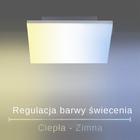 Plafon lampa LED Q-FLAG 8288-16 39W RGB OUTLET (8)
