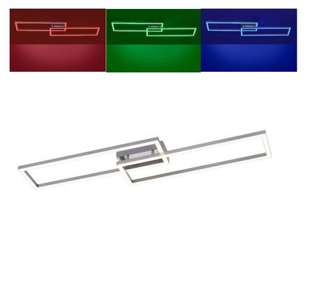 Plafon LED Ramka LOLA-Maxi RGB 36W 16430-55 + pilot (1)