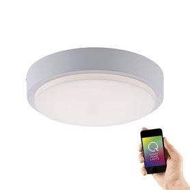 Plafon lampa LED Q-Lenny 9650-16 18W RGB IP65 Pilot