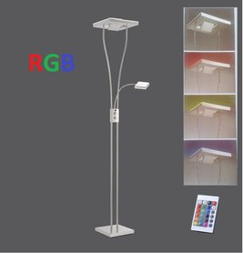 Lampa stojąca LED RGB 24W 11780-55 Ściemniacz + pilot PROMO