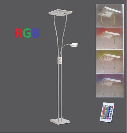 Lampa stojąca LED RGB 24W 11780-55 Ściemniacz + pilot PROMO (1)