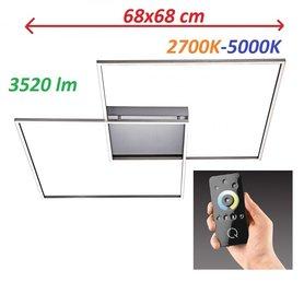 Lampa LED Inigo Ramka 6430-55 68x68CM 2,7K-5K