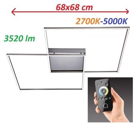 Lampa LED Inigo Ramka 6430-55 68x68CM 2,7K-5K (1)