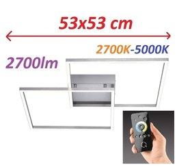 Lampa LED Q-Inigo Ramka 6429-55 53x53CM 2,7-5K