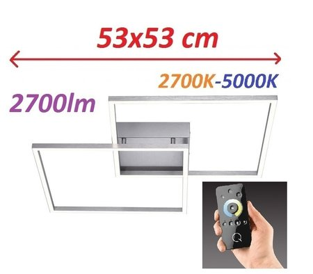 Lampa LED Q-Inigo Ramka 6429-55 53x53CM 2,7-5K (1)